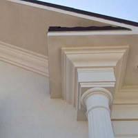 Карнизы фасадные - производство и монтаж, фото 1
