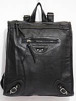 Рюкзак строгий кож.зам черный, фото 1