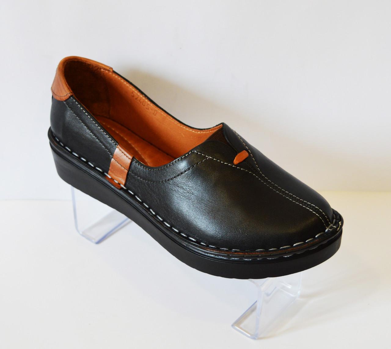Туфли женские кожаные Euromoda 53405