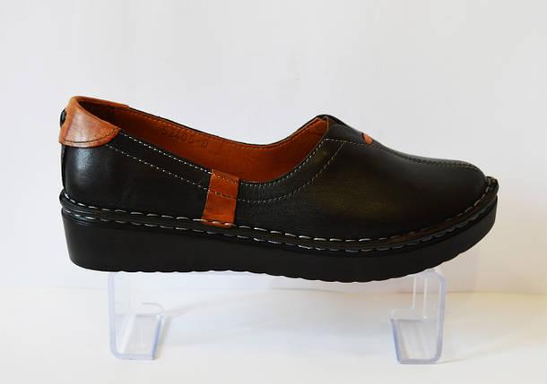 Туфли женские кожаные Euromoda 53405, фото 2