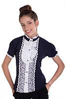 Гипюровые блузки для девочек
