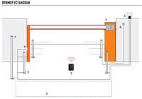 Шлагбаум автоматический  для безопасности NICE WIDE M.Стрела 4 м, фото 6