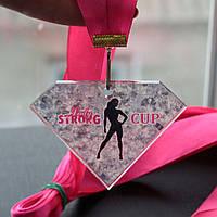 Медаль акриловая с печатью многоугольная