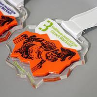 Медаль  акриловая с накладками