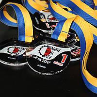 Медаль  акриловая с накладками-2