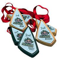 Медаль  деревянная с акриловой накладкой