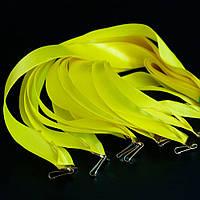 Лента желтая 25 мм
