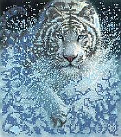 Схема для вышивки бисером POINT ART Тигр, размер 22х25 см