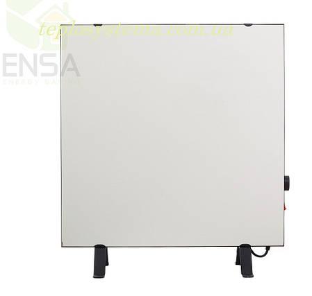Инфракрасный керамический обогреватель - электрическая тепловая панель ENSA КЕРАМИК CR 500 TW (белый) Украина, фото 2