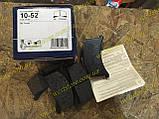 Колодки тормозные передние заз 1102 1103 таврия славута Tomex 10-52, фото 3