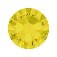 Стразы Swarovski клеевые холодной фиксации Yellow Opal 2058