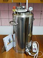 Автоклав электрический, огневой 35 л (28 банка 0,5л). Нержавейка