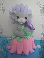 Мыло сувенирное  Мышка-цветочек