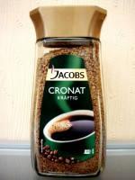 кофе Jacobs Сronat Kraftig (кофе якобс сублимированный), 200 г.