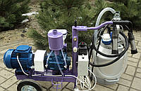 Доильный аппарат УИД-10 с масляным насосом 10 м3/ч