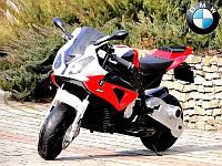 Детский мотоцикл BMW FT-258: 12V, 90W, 6 км/ч - Красный-купить оптом, фото 1