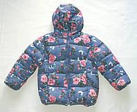 Куртка зимняя Nexp для девочки 2-6 лет холлофайбер