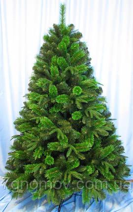 Елка искусственная на нитях зеленая 1.10 метра Сибирская, фото 2