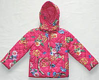 Куртка демисезонная 2-4-6-8-10 лет Стеганная