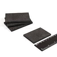 Пластины графитовые (композитные) 45х70х5 мм  для доильного аппарата Буренка