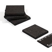 Пластины графитовые (композитные) 42х42х5 мм  для доильного аппарата Велес-7