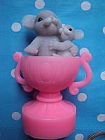 Мыло сувенирное  Мышки в чашке
