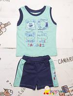 Летние комплекты одежды для мальчика р.74