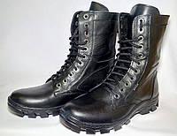 Мужские демисезонные ботинки черные