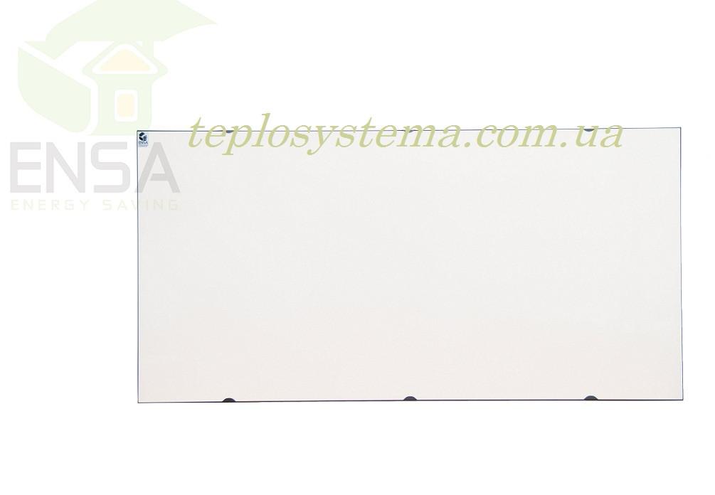 Инфракрасный керамический обогреватель - электрическая тепловая панель ENSA КЕРАМИК CR 1000 W (белый) Украина