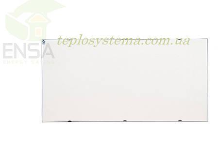 Инфракрасный керамический обогреватель - электрическая тепловая панель ENSA КЕРАМИК CR 1000 W (белый) Украина, фото 2