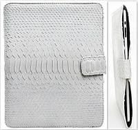 Чохол із шкіри пітона для iPad / Чехол из кожи питона для iPad 0953