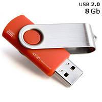 """Флешка """"Twister"""" під логотип 8 Gb USB 2.0"""
