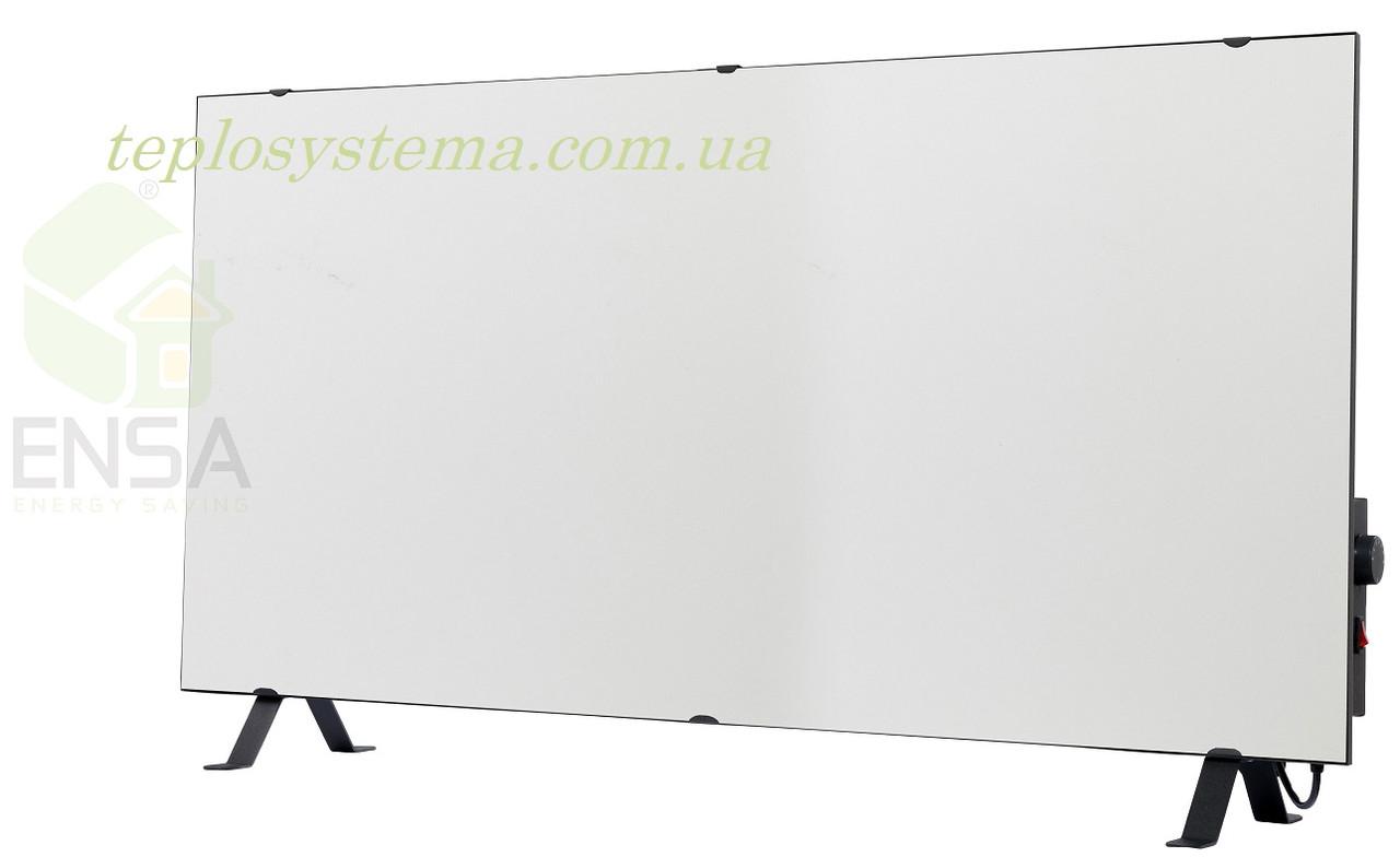 Инфракрасный керамический обогреватель - электрическая тепловая панель ENSA КЕРАМИК CR 1000 TW (белый) Украина