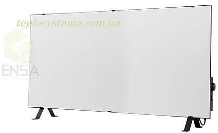 Инфракрасный керамический обогреватель - электрическая тепловая панель ENSA КЕРАМИК CR 1000 TW (белый) Украина, фото 2
