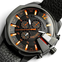 мужские черные часы Dz Brave (Дизель Брейв), копия