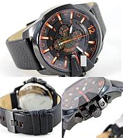 мужские черные часы Dz Brave (Дизель )