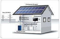 Сонячна електростанція потужністю 3кВт, до 15кВт/год за добу
