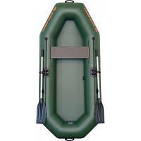 Лодка надувная Kolibri, одноместная, гребная с веслами из ПВХ К-230 СуперЛайт