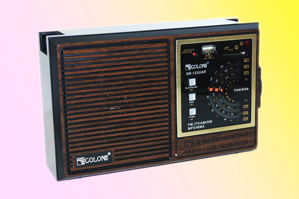 Портативная аккустическая система GOLON RX-133UAR