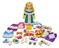 """""""Одягни принцесу Елізу""""- магнітна одевалка, Melissa&Doug"""