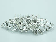 Хит продаж -свадебные гребни для невест. Незабываемая бижутерия для свадьбы оптом. 239