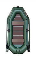 Лодка надувная ПВХ Kolibri К-280СТ Стандарт, 3-местная гребная, фото 1