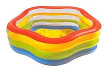 Бассейн надувной 56495 Intex 185х180х53 см