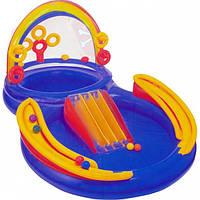 Детский водный игровой комплекс Радуга Intex 57453