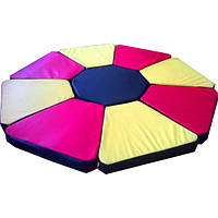 Мат игровой трансформер Цветочек Тia-sport