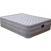 Кровать надувная односпальная с насосом 66964 Intex 99х191х51 см