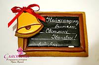 """Медовый имбирный пряник """"Школьная доска"""", фото 1"""