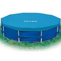Тент для каркасного бассейна 28031 Intex диаметром 366 cм