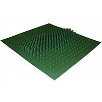 Массажный коврик для ног от плоскостопия резиновый 260-260 мм