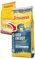 Josera (Йозера) High Energy - Сухой корм для собак для активных, спортивных собак, 15 кг.